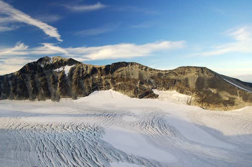 South side of Galdhøpiggen