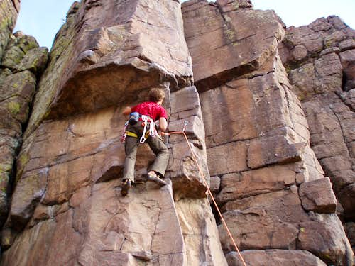 Want to go to North Table Mnt? Of Coors! (5.8-5.10c)
