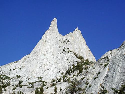 Cathedral Peak (right) and...