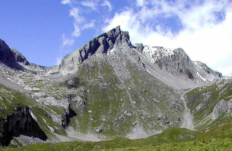 Col de Bonalè, Aiguille de Bonalè and Aiguille de Malatrà