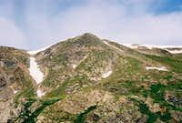 Whale Peak from South Ridge....
