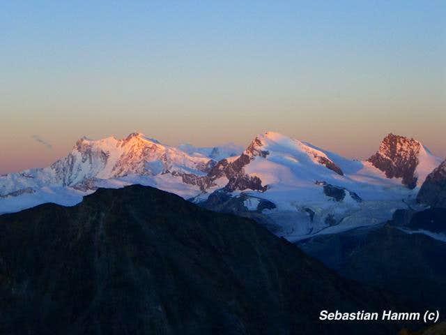 Monte Rosa & Strahlhorn