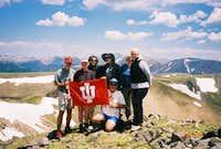 The IU Alumni hiking Club...