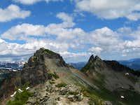 Pinnacle Peak and The Castle...