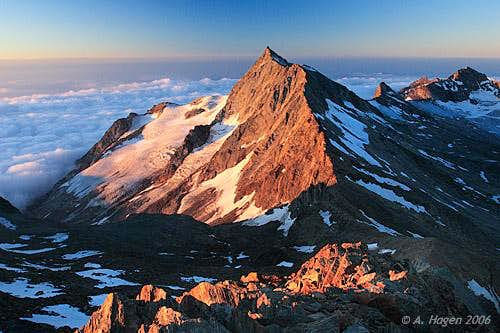 View of Piz d\'Andolla