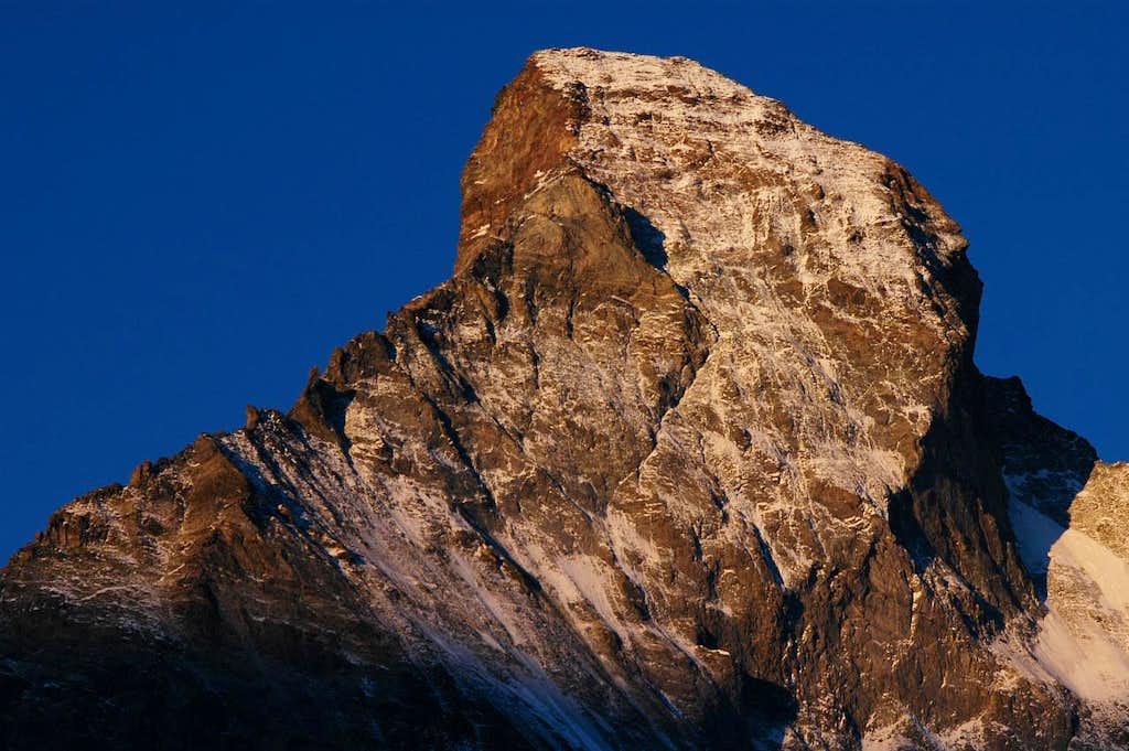 Matterhorn north side