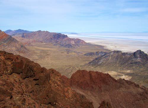 View Northeast from Volcano Peak