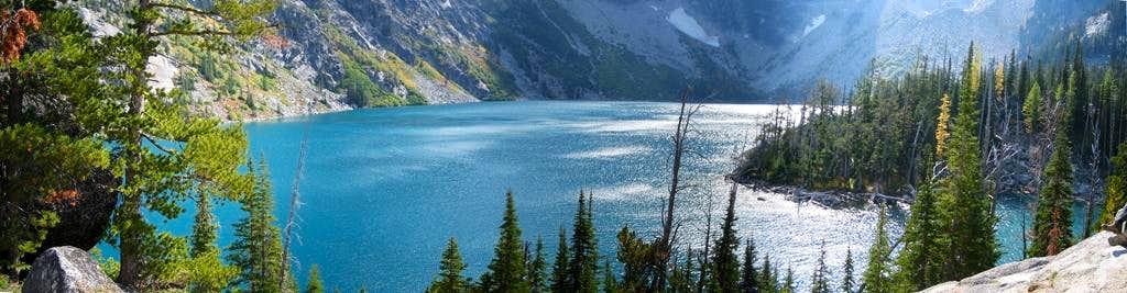 Lake Colchuck Pano