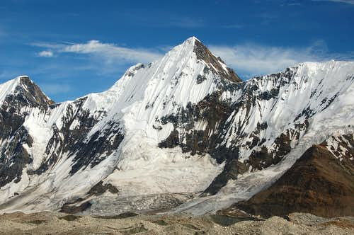 North Face of Gloster Peak (5952m)