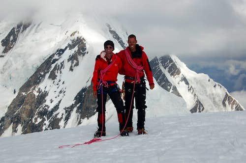 Me and Peter on the summit of Haigutum East
