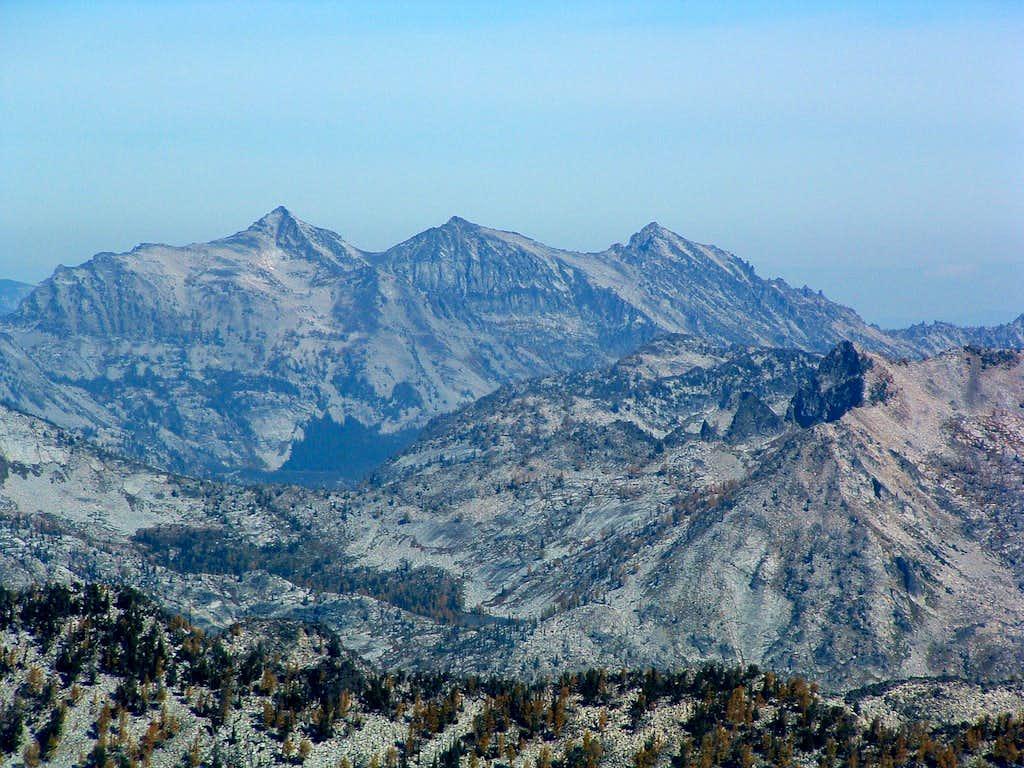 Como Peaks from Mt Jerusalem