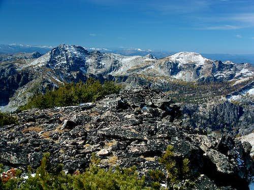 Mount Jerusalem from Bare Peak