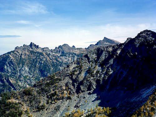 Trapper Peak from Bare Peak