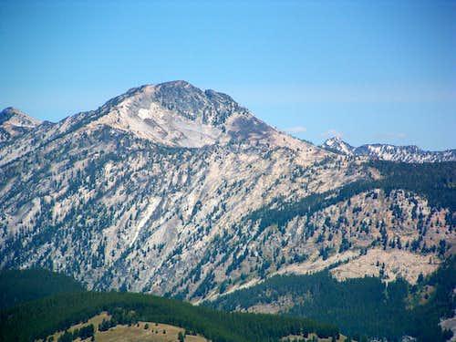 Mt Jerusalem from Castle Rock
