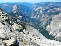Half Dome and Yosemite Valley