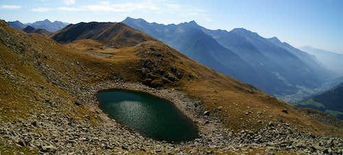 Übelsee, Glaitner Hochjoch and Sarntal Alps