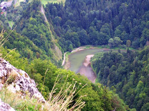 The Dunajec's gorge...