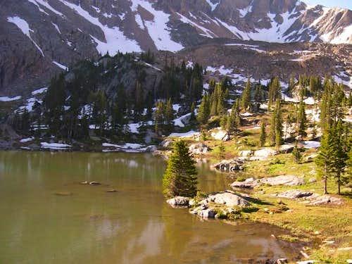 Columbine Lake-7-03-2003 at...