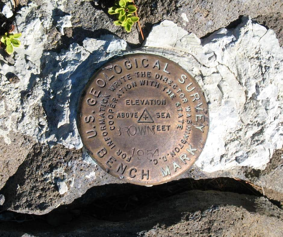 Brown Mtn  Benchmark (OR)
