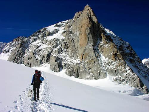 La cresta nord est della Tour Ronde (3792 m)