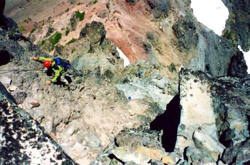 My team climbing the North...