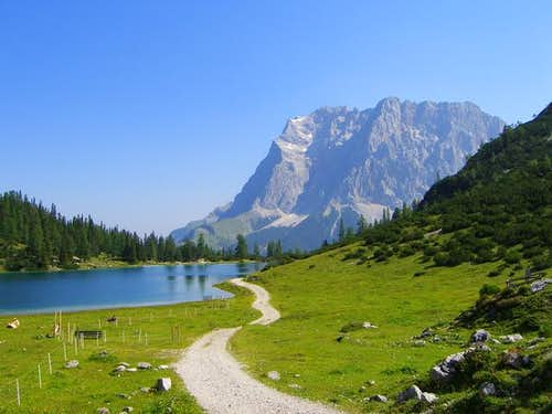From Seebensee to Coburger-hut