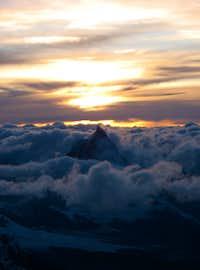 Cervino (visto da Punta Gnifetti)