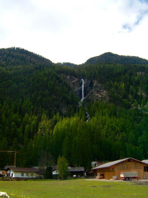 Via ferrata Lehner Wasserfall - Jubiläumsklettersteig