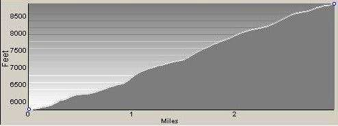 Profile of Gash Point Route