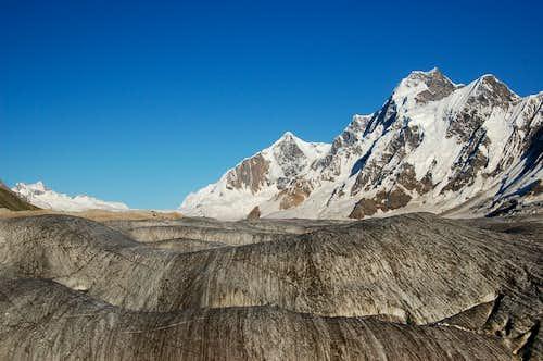 The Hispar Glacier