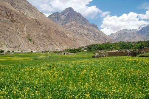 Shimshal village, Northern Areas, Pakistan