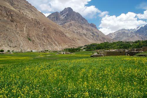 Shimshal village, Northern Areas, Pakistan