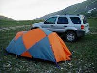 Camping at Kite Lake. It was...