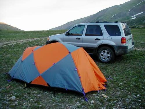 Camping at Kite Lake. It was...