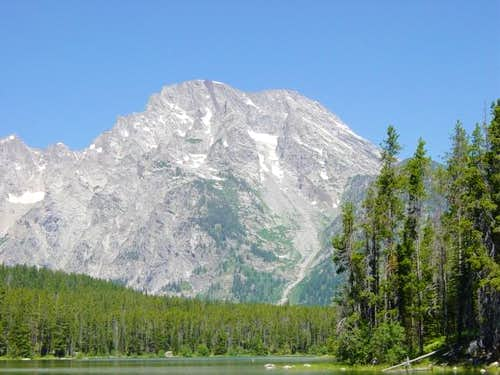Mt. Moran from the Leigh Lake...