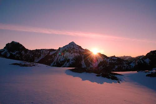 Mt. Larrabee and American Border Peak