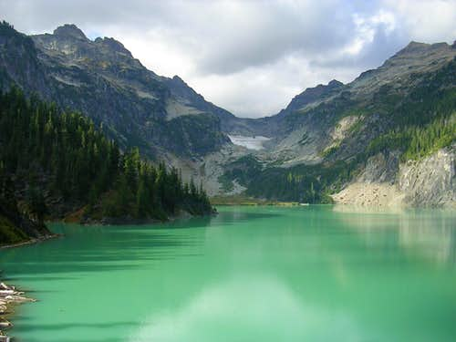 Blanca Lake, Kyes Peak