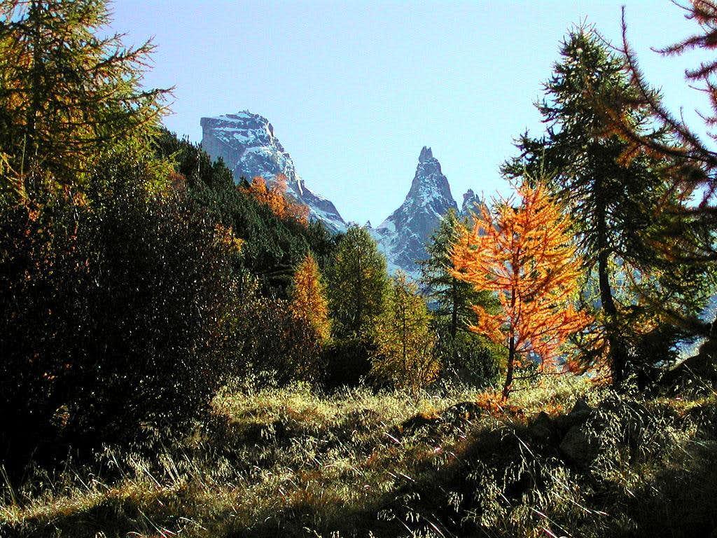 fall in val Bondasca