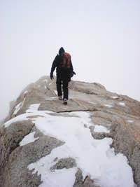 Traversing Summit Ridge
