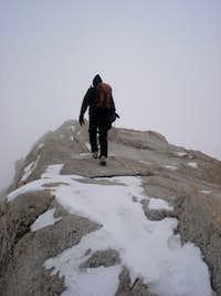 Traversing Summit Ridge