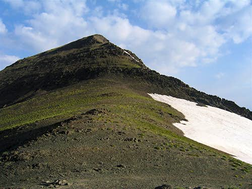 Summit from saddle