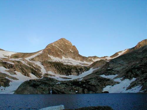Mount Toll from Blue lake....