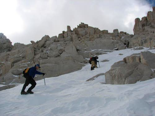 Ascending The Col