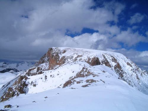 Snow Covered Summit Plateau