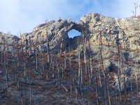 Arch on Willow Peak