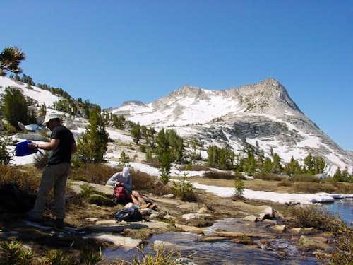 Vogelsang Peak (summit is at...
