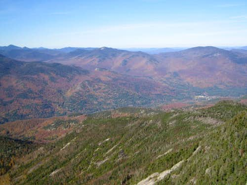 the view between Algonquin and Whiteface