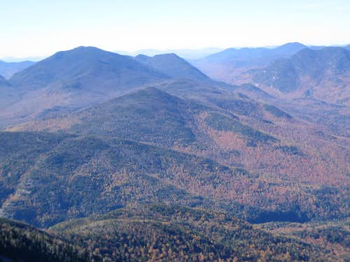 between Dix Range and Great Range