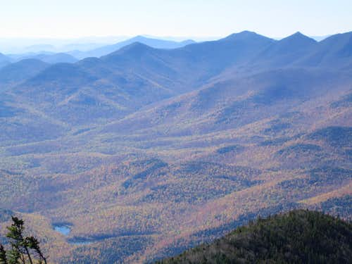 a classic fall view from Giant Mountain