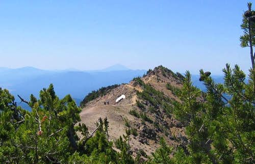 Mt. Scott ridgeline